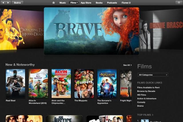 В украинском iTunes Store появились фильмы