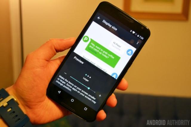 Android N позволит изменять размер экрана вашего устройства