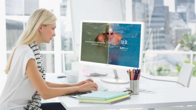 Голубой цвет может повредить ваши глаза: производители уже готовят «безопасные экраны»