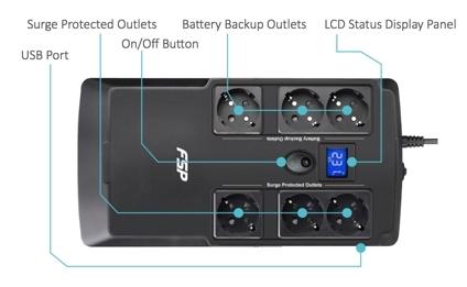 Нові моделі FSP UPS