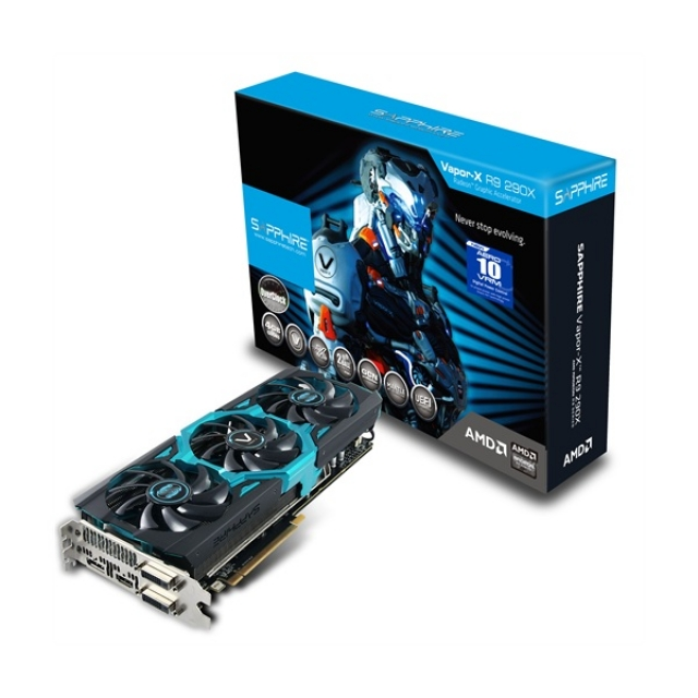 Новая видеокарта SAPPHIRE R9 290X 8GB с кулером TRI-X, более высокой тактовой частотой и двойным BIOS