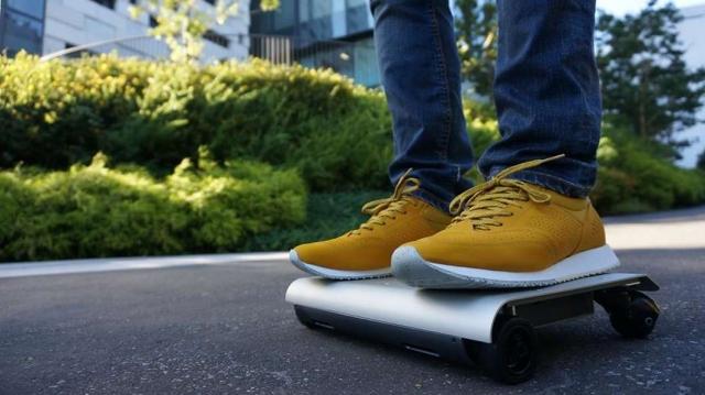 WalkCar – электрическое транспортное средство размером с ноутбук