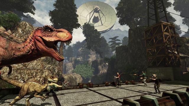 Primal Carnage: Extinction  - битва с динозаврами на ПК стартует в ноябре, на PS4 в 2015 году (видео, скриншоты)