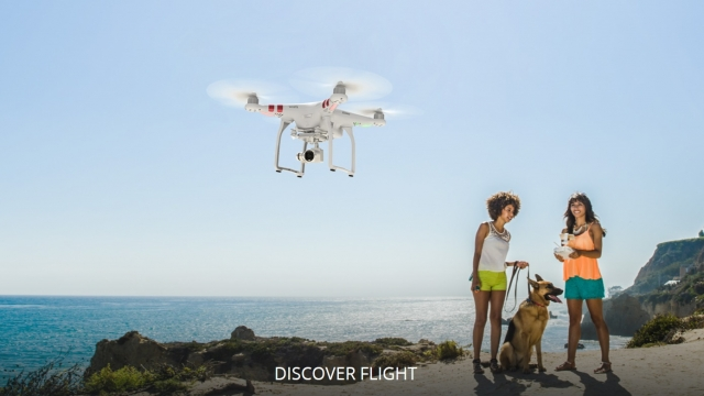 «Умные» режимы полетов для дронов DJI Phantom 3 и Inspire 1