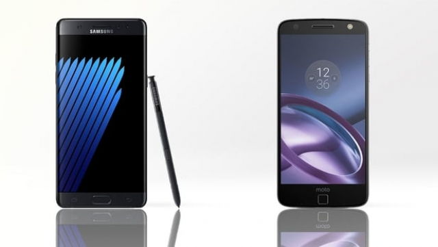 Samsung Galaxy Note 7 vs Moto Z: в чому різниця?
