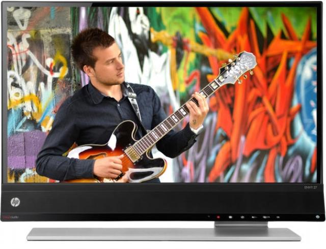 HP Envy – 27-дюймовый монитор с технологией Beats audio