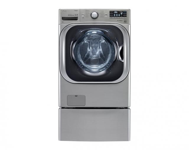 Суперъемкая стиральная машина LG с технологией TurboWash