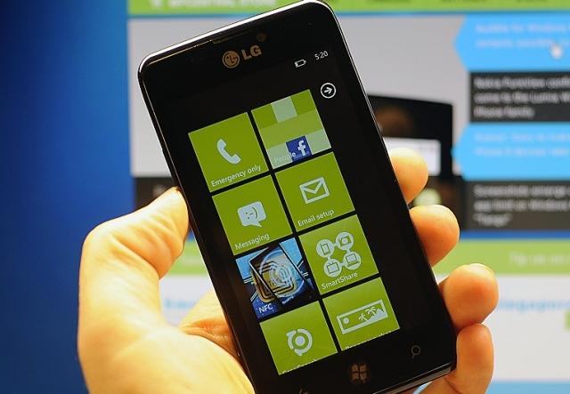 В этом году LG планирует выпустить смартфон на базе Windows Phone 8