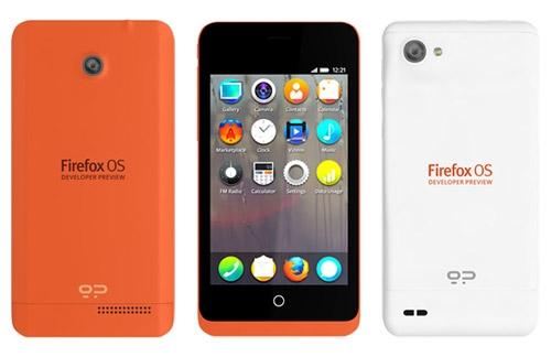 Firefox-смартфоны отдали в тестирование разработчикам