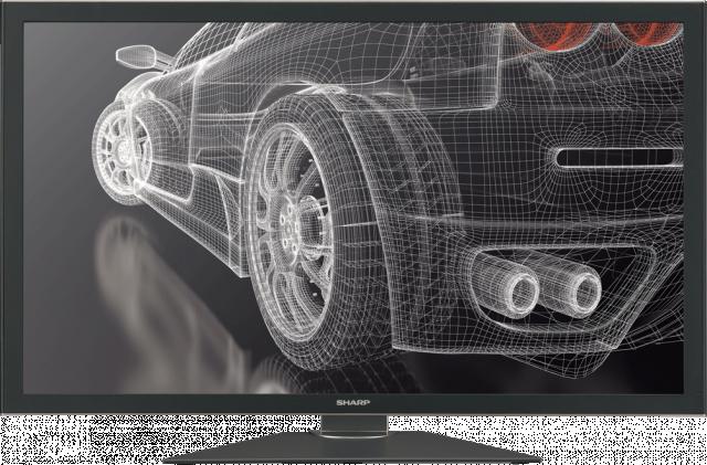 Монитор Sharp IGZO с разрешением 3840 x 2160 пикселей (QFHD)