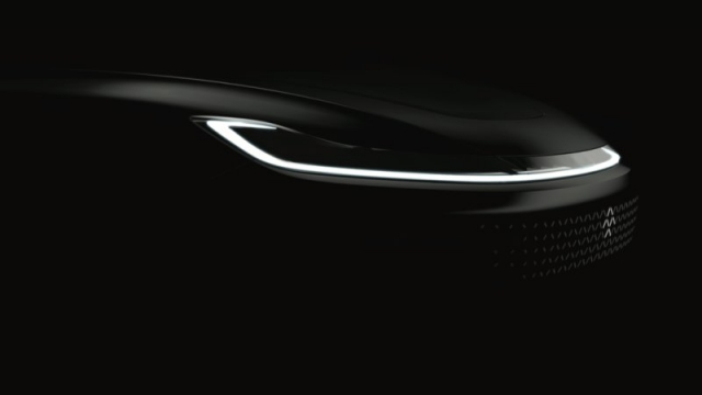 Faraday Future показала частину суперкара EV