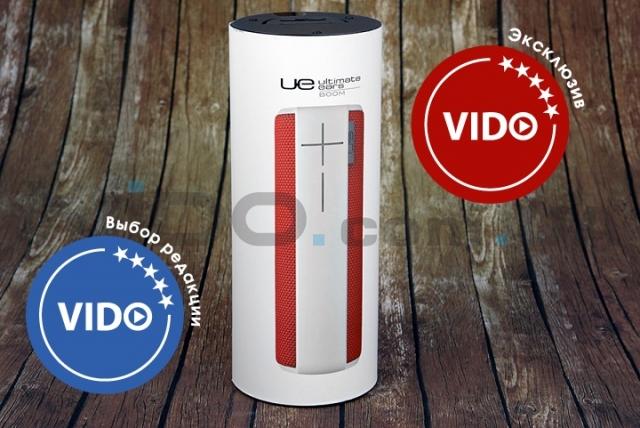 Обзор беспроводной колонки Logitech UE Boom: 360° звука