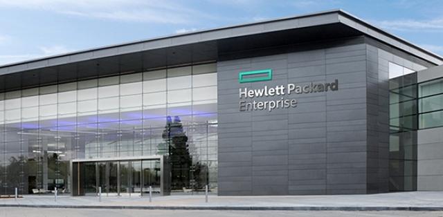 Новый логотип компании Hewlett Packard Enterprise