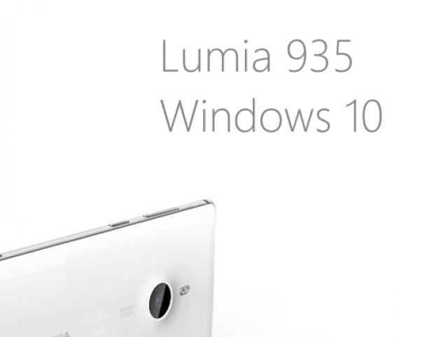 Смартфон моей мечты: Nokia Lumia 935 на Windows 10