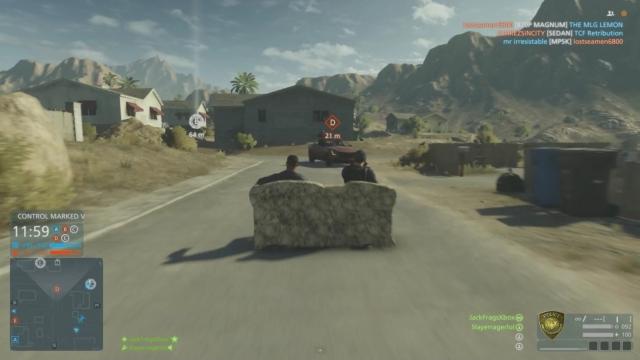 В Battlefield Hardline можно поездить на убийственном диване (видео)