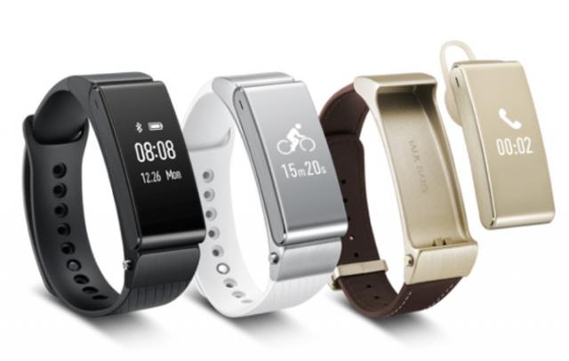 Huawei представили умный браслет Talkband B2 и стерео гарнитуру Talkband N1