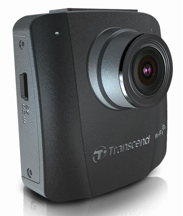 Видеорегистратор Transcend DrivePro 50 с Wi-Fi и объективом с большой диафрагмой F/1.8