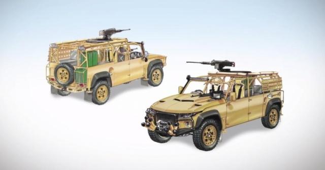 Wildcat, создатели Land Rover с двигателем от Corvette, строят легкий боевой автомобиль и гоночный кроссовер