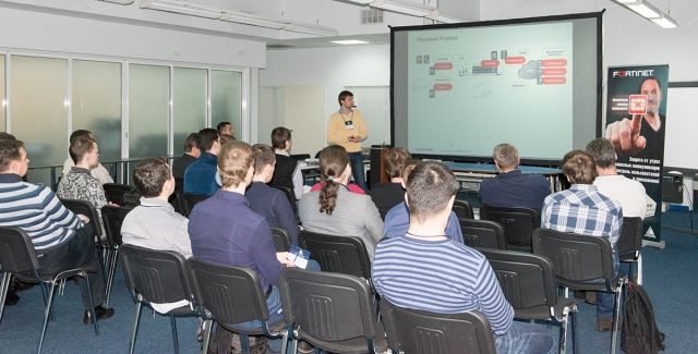 В Учебном Комплексе ERC состоялась первая в Украине презентация беспроводных решений Fortinet