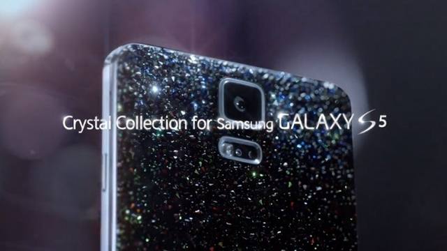 Samsung и Swarovski представят Crystal Galaxy S5 в мае