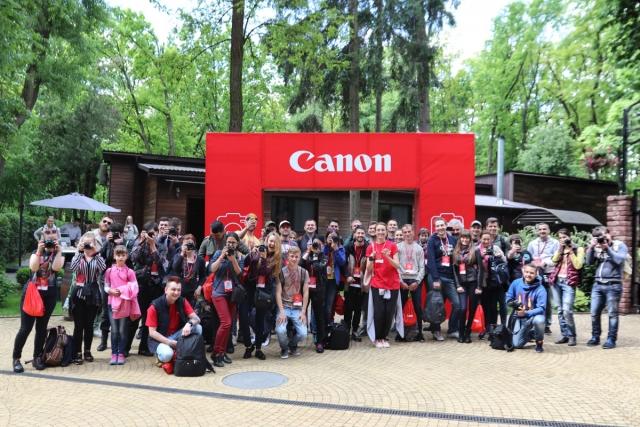 Первый Canon ФотоМарафон в Украине
