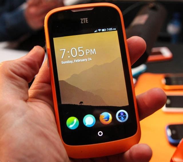 ZTE представляет первый смартфон на ОС Firefox