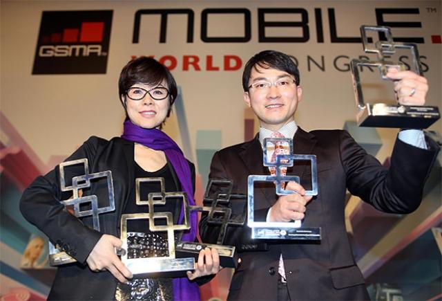 Награды лучшим на MWC 2013
