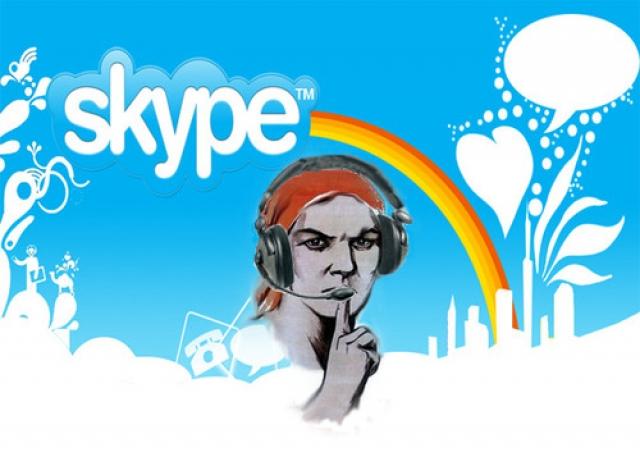 Skype следит за пользователями.