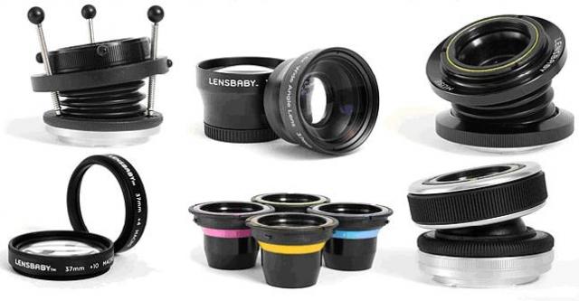 Lensbaby: новые аксессуары для фототехники