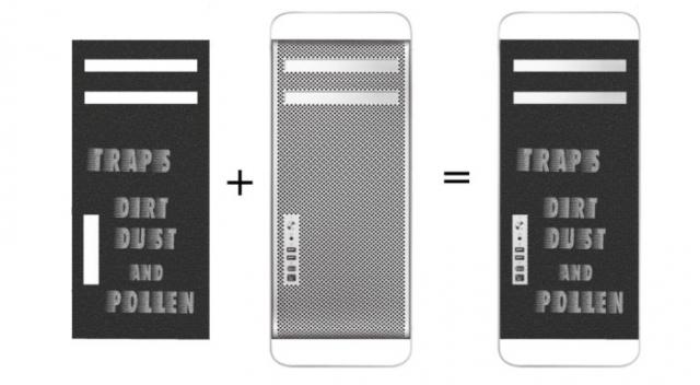 iSchmutz – первый в мире фильтр для Mac Pro Air