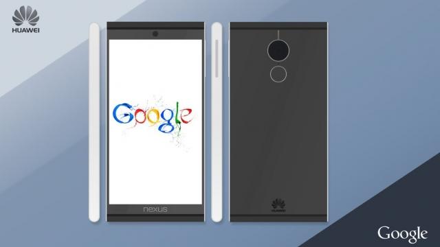 Концепт Huawei Nexus 5 (2015) демонстрирует заостренный дизайн и большую камеру