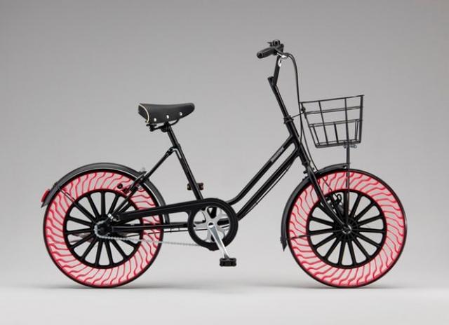 Безповітряні шини  Bridgestone для велосипедів