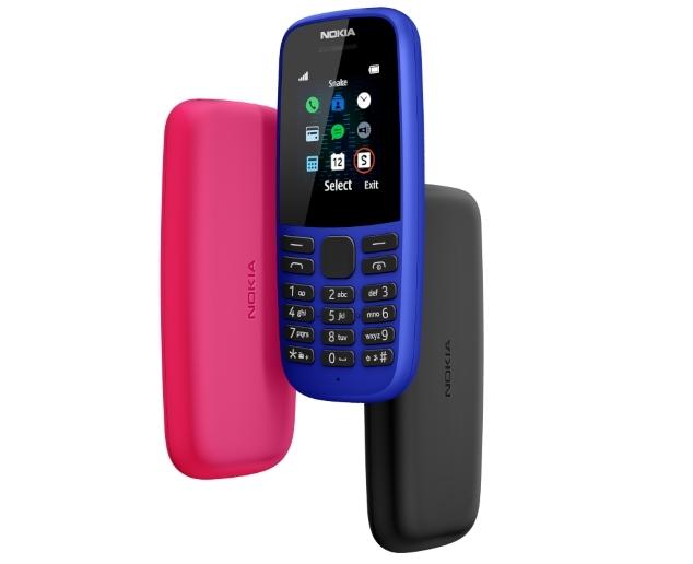 Новий кнопочний телефон Nokia 105 із потужною батареєю за доступною ціною