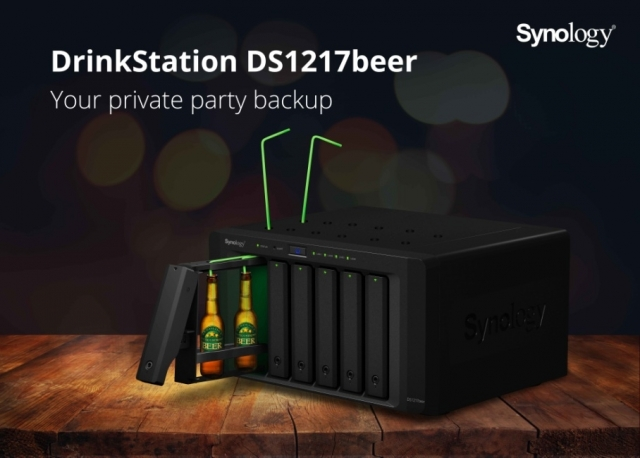 Synology представляет DrinkStation DS1217beer