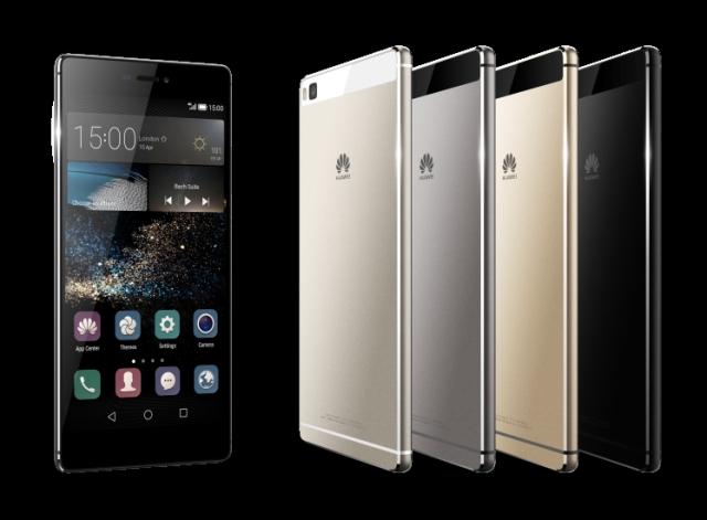 Huawei P8 и P8lite доступны в розничной сети