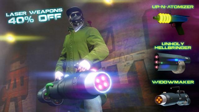 Лазерні технології, знижки на футуристичну зброю та багато іншого в GTA Online