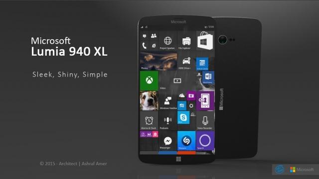 Lumia 940 и 940 XL получат 20-MП камеру и разъем USB Type C