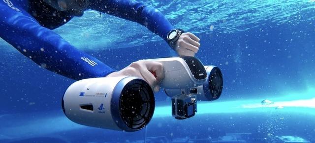 Підводний скутер WhiteShark MIX (відео)