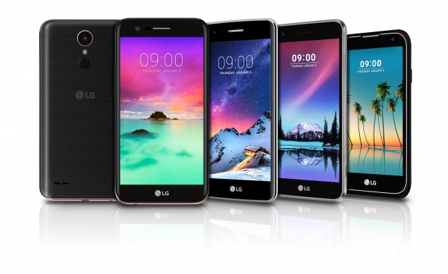 Смартфоны средней ценовой категории LG