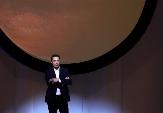 Ілон Маск представив науковцям план колонізації Марсу