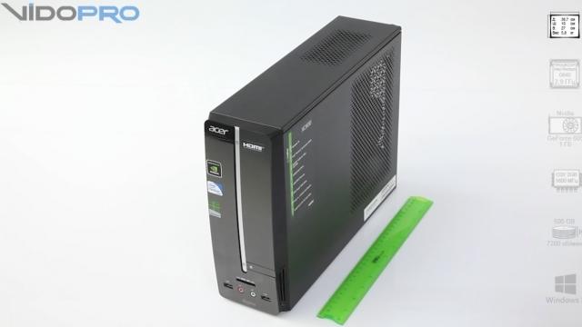 Видеообзор Acer Aspire XC600: мультимедийный десктоп