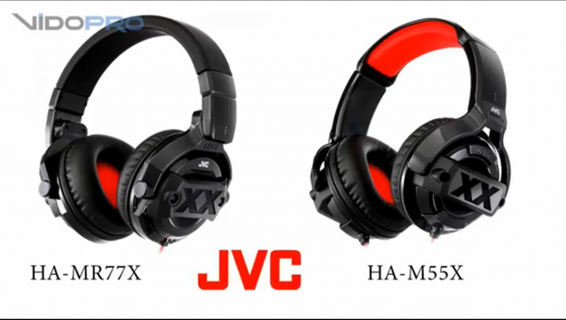 Видеообзор JVC Xtreme Xplosives HA-M55X + JVC Xtreme Xplosives HA-MR77X: яркие молодежные наушники