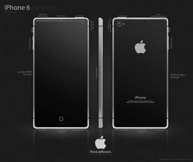 Концепт iPhone 6 от Рана Авни (видео)