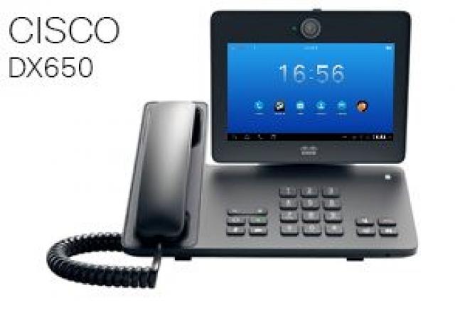 Новые видеотелефоны Cisco серии DX600 в сравнении с Cisco Cius
