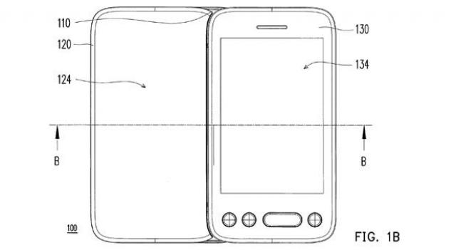HTC запатентовала телефон с двумя дисплеями