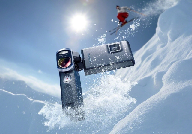 Sony представляет новую водонепроницаемую камеру - Handycam HDR-GW66VE
