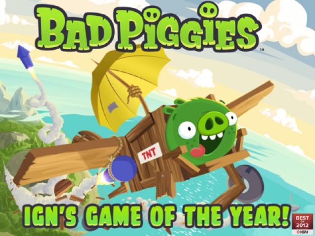 Bad Piggies от Rovio обновились на 15 уровней и на кое-что еще...