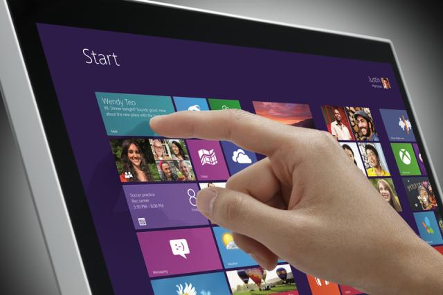 Монитор LG Touch 10 совместим с Windows 8