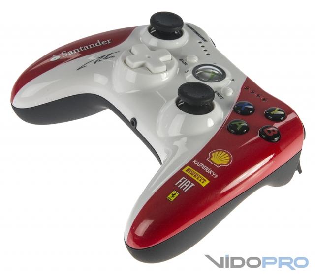 Thrustmaster GPX LightBack: проводной игровой контроллер для заядлых гонщиков