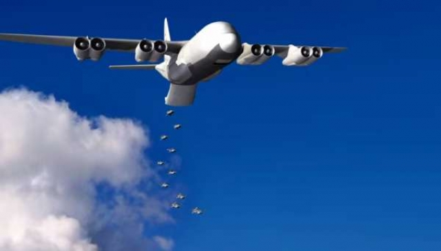 Умные беспилотники и дешевые ракеты помогут безопасно перевозить войска по воздуху